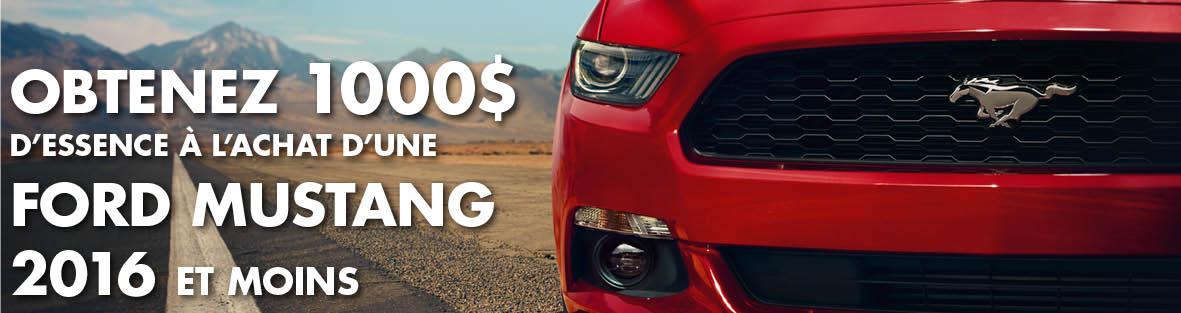 Ford Mustang Usage d'occasion, usagés et démonstrateurs
